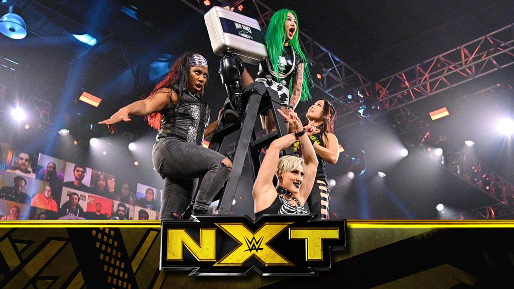 NXT第594期:紫雷压轴加盟狼姐战队