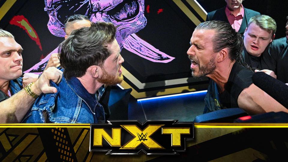 NXT第612期:签约仪式剑拔弩张