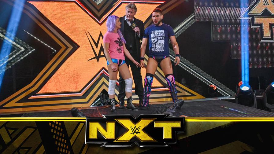 NXT第587期:强尼夫妇锁定冠军挑战资格