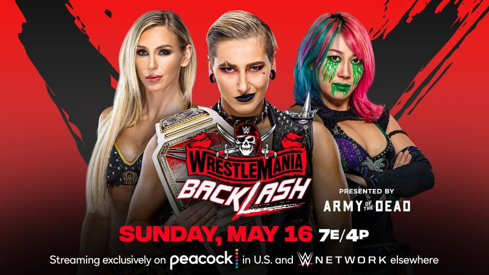 爆裂震撼2021:RAW女子冠军赛 雷亚VS明日华VS夏洛特