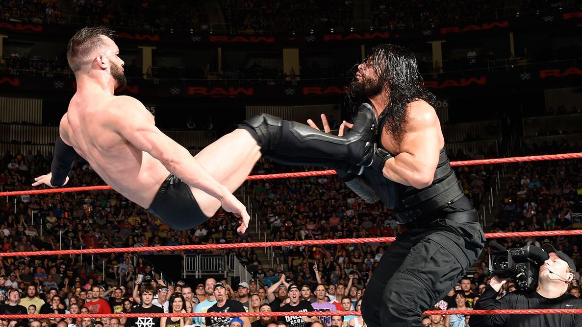 RAW第1209期:罗门VS巴洛尔