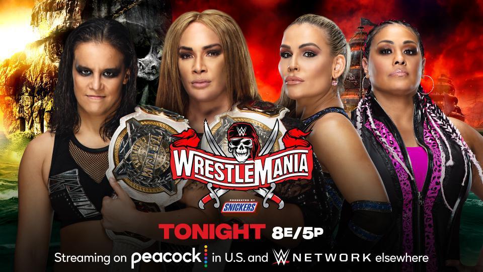 摔跤狂热37:女子双打冠军赛 奈亚&善娜VS娜塔莉亚&塔米娜