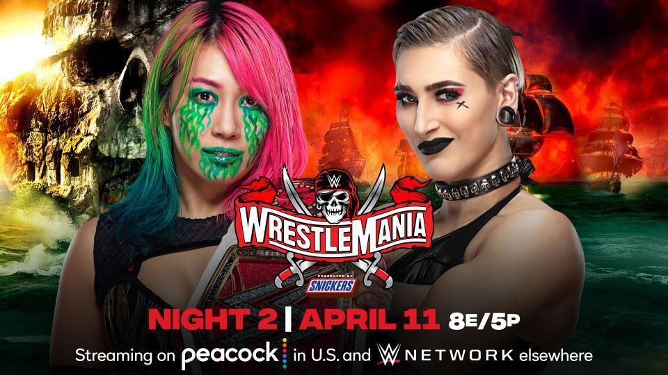 摔跤狂热37:RAW女子冠军赛 明日华VS里普利