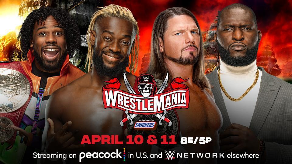 摔跤狂热37:RAW双打冠军赛 新希望VS AJ&奥莫斯
