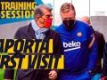 巴萨训练日记:决战!梅西领衔备战欧冠 拉波尔