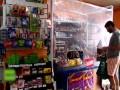 做好防护!布宜诺斯艾利斯华人超市有妙招 疫情防控千万不要大意