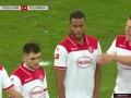 下半场补时第1分钟门兴格拉德巴赫球员特拉奥雷射门 - 被扑