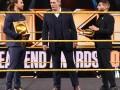NXT第542期:果然是最佳对手 科尔与加尔加诺颁奖仪式剑拔弩张