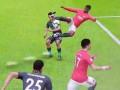 FIFA反物理合集!倒地弹起3米高 队友被踢出屏幕