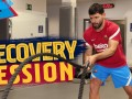 巴萨官方晒阿圭罗训练视频:健身房进行康复训练