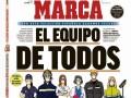 """马卡今日封面:致敬西班牙""""国家队""""大家一起努力定能战胜病毒"""