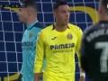 第41分钟塞维利亚球员普罗梅斯射门
