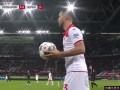 第2分钟RB莱比锡球员希克进球 杜塞尔多夫0-1RB莱比锡
