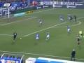 第40分钟AC米兰球员伊布拉希莫维奇射门 - 打偏