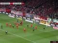 下半场补时第2分钟沃尔夫斯堡球员穆罕穆迪射门 - 打偏