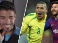 苏亚雷斯评五大前锋:梅西第一巴蒂上榜 哪个罗纳尔多遭调侃