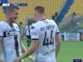 第43分钟帕尔马球员库卢塞夫斯基进球 帕尔马1