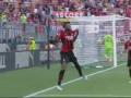 意甲-莱奥破门伊布赛季首秀替补建功 AC米兰主场2-0拉齐奥