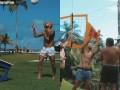 跨年新方式!内马尔携好友玩网式足球 赤裸上身如丛林野人