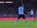 第61分钟门兴格拉德巴赫球员普利亚黄牌