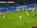 第13分钟沃尔夫斯堡球员施拉格尔进球 沃尔夫斯堡1-0门兴格拉德巴赫