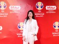 《中超维密团》史上最美女主播!刘语熙世界杯泪洒演播室楚楚动人