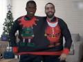 赞助商送皇马球员奇葩圣诞礼物 连体毛衣绿巨人手套真的绝了