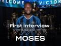 专访摩西:一直期待与孔蒂重聚 会尽全力助国米争夺联赛冠军