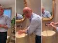 对抗疫情!因凡蒂诺自拍洗手教程:大家多洗手啊!