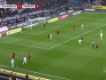 第8分钟门兴格拉德巴赫球员马库斯·图拉姆射门 - 被扑