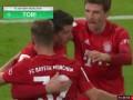 第80分钟拜仁慕尼黑球员莱万多夫斯基进球 拜仁慕尼黑4-1霍芬海姆