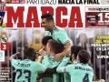 马卡报封面:眼花缭乱!皇马踢出美丽足球 决赛对手巴萨or马竞