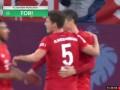 第36分钟拜仁慕尼黑球员莱万多夫斯基进球 拜仁慕尼黑3-1霍芬海姆