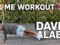 阿拉巴分享居家高效健身法! 无需器械 6分钟虐腹虐背全是干货