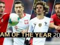 欧足联最佳阵容4大国家队英雄:莱万进球如麻 格子塔迪奇入选