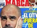 马卡今日封面:曼城遭欧战禁赛 巴萨力争重返联赛榜首