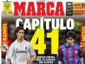马卡今日封面:拉莫斯梅西对决德比41章 欧联上演西意对决