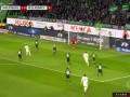 第15分钟门兴格拉德巴赫球员恩博洛进球 沃尔夫斯堡1-1门兴格拉德巴赫