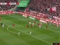 第25分钟拜仁慕尼黑球员科曼射门 - 打偏