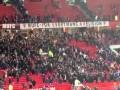老特拉福德西看台!曼市德比后15分钟仍守望 红魔球迷高歌庆祝