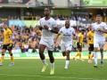 英超-上半场连入两球 10人布伦特福德2-0客胜狼队