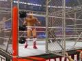 王室决战2012:世界冠军铁笼三重威胁赛 丹尼尔VS马克亨利VS大秀哥
