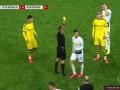 第76分钟门兴格拉德巴赫球员本塞拜尼黄牌