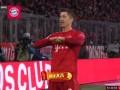 上半场补时第4分钟拜仁慕尼黑球员莱万多夫斯基进球 拜仁慕尼黑2-1云达不莱梅