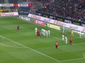第6分钟弗赖堡球员施密德进球 门兴格拉德巴赫1-1弗赖堡