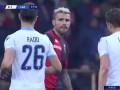 第18分钟拉齐奥球员米林科维奇·萨维奇射门 - 被扑