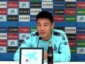 武磊:西甲首秀就是对阵黄潜 留洋决定非常正确+享受西甲氛围