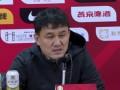 郝伟:张玉宁带伤出战值得表扬 林良铭是本次集训最后归队球员