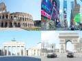 """疫情下的国际大都市:看不见的病毒 看得见的""""停摆""""世界"""