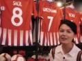 央视新闻频道《行走一带一路》造访马竞主场 格子科克球衣出镜